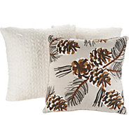 Deck the House by Vivere Home (3) Seasonal Decorative Throw Pillows - H213340