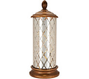 As Is Illuminated Lattice Pattern Hurricane w/ Timer - H214140