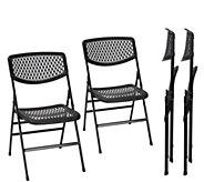 Cosco Resin Mesh Folding Chair, 4-Pack - H290540