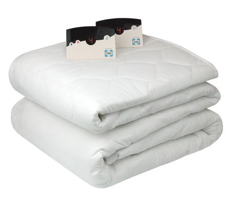 Biddeford Heated Queen Size Mattress Pad — QVC