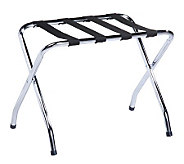 Honey-Can-Do Chrome Folding Luggage Rack - H357040