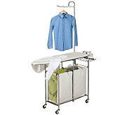 Honey-Can-Do Foldable Ironing Laundry Center and Valet - H367440