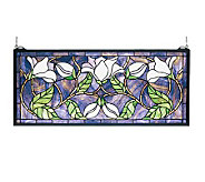Tiffany Style Magnolia Window Panel - H123441