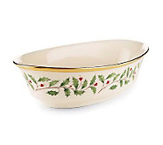 Lenox Holiday Open Vegetable Bowl - H137641