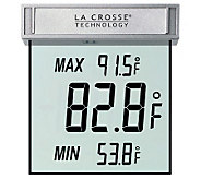 La Crosse WS-1025 Window Thermometer - H145041