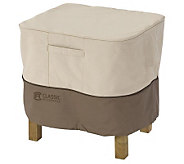 Veranda Ottoman/Side Table Cover Small by Classic Accessories - H149341