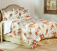 As Is 3 pc. Rose Trellis Bedding Set by Valerie - H210041