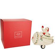 Lenox Holiday Porcelain Figural Cookie Jar - H211841