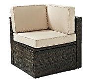 Crosley Palm Harbor Outdoor Wicker Corner Chair - H283041