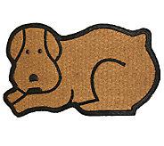 Geo Crafts Flat Weave Tuffcor Dog Door Mat - H283841