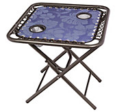 Bliss Hammocks Foldable Sling Side Table - H288541