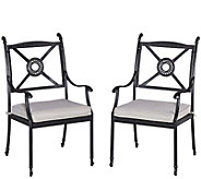Athens Arm Chairs with Cushions, Set of Two - H288641