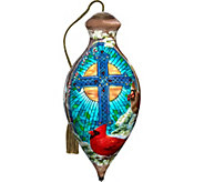 The Light of the Season Cardinals Ornament by NeQwa - H294241