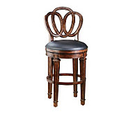 Hillsdale Furniture Dover Counter Stool with Leather Seat - H126042