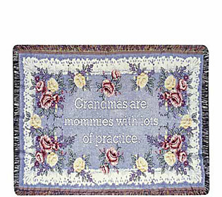 Gift to Remember Cotton Throw with Gift Bag bySimply Home