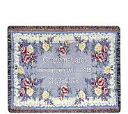 Gift to Remember Cotton Throw with Gift Bag bySimply Home - H127642