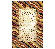 Momeni New Wave Wavy Lines 96 x 136 Handmade Wool Rug - H161742