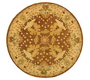 Anatolia II 6 x 6 Round Handtufted Oriental Wool Rug - H183642