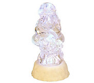 Mr. Christmas Battery Op. Color Morphing Glitter Figure with Timer - H192542
