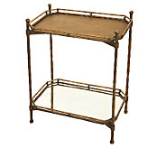 Home Reflections 2-Tier Collapsible Tray Table - H199042