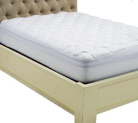 Serta Perfect Sleeper Waterproof Mattress Enhancer Qvc Com