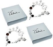 S/2 Christs Story 7-1/4 Bracelets with Gift Boxes by Valerie - H205342