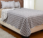 Monaco 100Cotton Reversible Quilt Set with Sham(s) - H205842