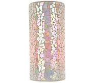Pastel Mosaic Column with Multi-Function Light & Remote by Valerie - H207642