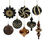 Set of 18 Shatterproof Ornaments by Vickerman - H285442