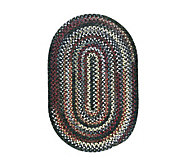 Chestnut Knoll 12 x 15 Oval Braided Rug by Colonial Mills - H130043