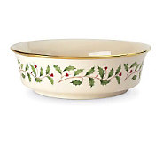 Lenox Holiday Serving 9-1/4 Bowl - H137643