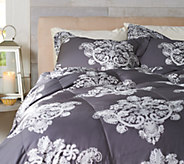 Casa Zeta-Jones Antique Lace TW 400TC Cotton 550 Fill Power Down Comforter - H213243