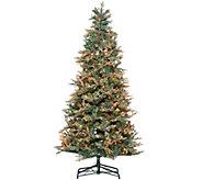 As Is Bethlehem Lights 7.5 Blue Spruce Christmas Tree - H215143
