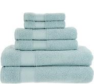 As Is Casa Zeta-Jones 100Turkish Cotton 6 Piece Towel Set - H215743