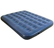 Pure Comfort Queen Size Flock Top Air Bed - H281043