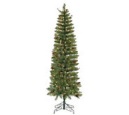 7.5 Salinas PVC Pencil Tree w/ Clear Mini Lights by Vickerma - H281943