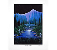 Twilight Visitation Print by Artist of Hope Steven Lavaggi - H282543