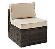 Crosley Palm Harbor Outdoor Wicker Center Chair - H283043