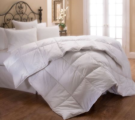 Stearns foster 400 tc pima cotton sateen kingcomforter for Pima cotton comforter