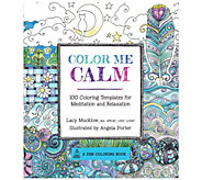 Color Me Calm Adult Coloring Book - H288143