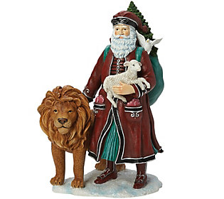 Limited Edition Peace to All Santa Figurine byPipka