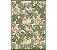 Couristan Dolce Flowering Fern 81 x 112 Rug - H293143