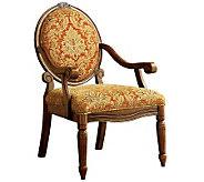 Hammond Antiqued Oak Accent Chair - H359443