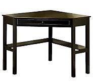 Porto Black Corner Desk - H359543