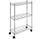 Whitmor Supreme 3-Tier Laundry Cart - H367743