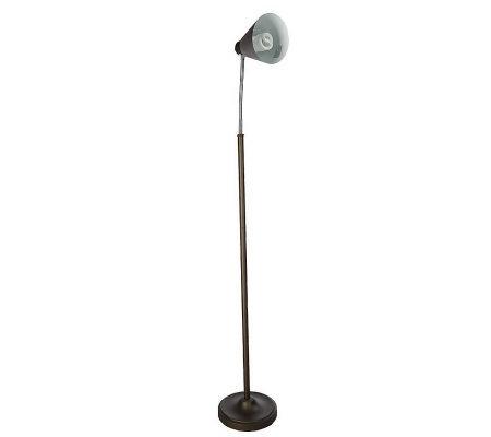 Daylight 24 Naturaldaylight Energy Saving Glare Free 60 Quot Floor Lamp H12244 Qvc Com