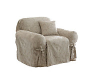 Sure Fit Scroll Chair Slipcover - H136844