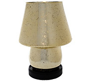 Mercury Glass Illuminated Plug-in Lamp by Valerie - H203144