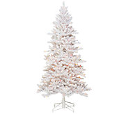 As Is BethlehemLights 5 White Spruce Christmas Tree w/Instant Power - H204244
