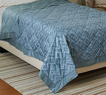 Northern Nights Aspen 400TC All Seasons 550FP Queen Down Blanket - H206944